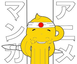 kolorowanki Anime - Manga