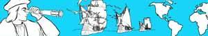 kolorowanki Odkrycie Ameryki - Krzysztofa Kolumba