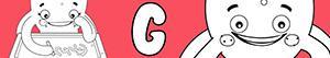 kolorowanki Imiona dla Dziewczynek na litere G