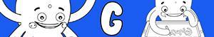 kolorowanki Imiona dla Chłopców na litere G