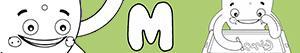 kolorowanki Imiona dla Chłopców na litere M
