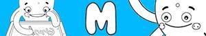kolorowanki Imiona dla Dziewczynek na litere M