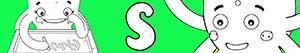 kolorowanki Imiona dla Dziewczynek na litere S