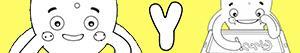 kolorowanki Imiona dla Chłopców na litere Y