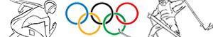 kolorowanki Zimowe Igrzyska Olimpijskie